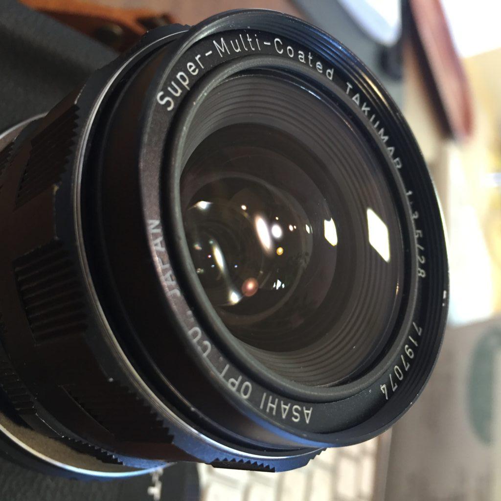 オールドレンズTakumar 55mm f1.8とTakumar 28mm f3.5レビュー