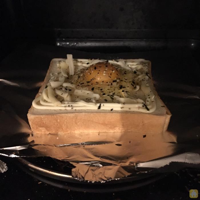 トースターで
