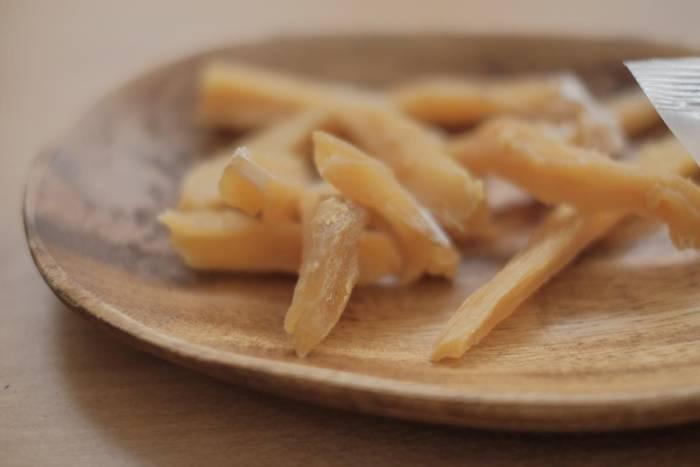 懐かしい優しい味でおいしい無印良品の素材を味わう「スティック切れ端干しいも」が小腹が空いた時にいい人気商品