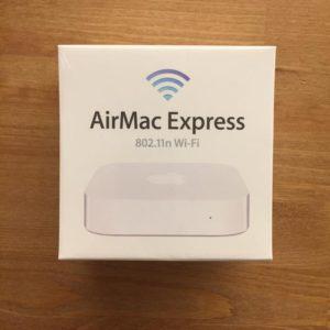 Apple AirMac Express ベースステーション外観
