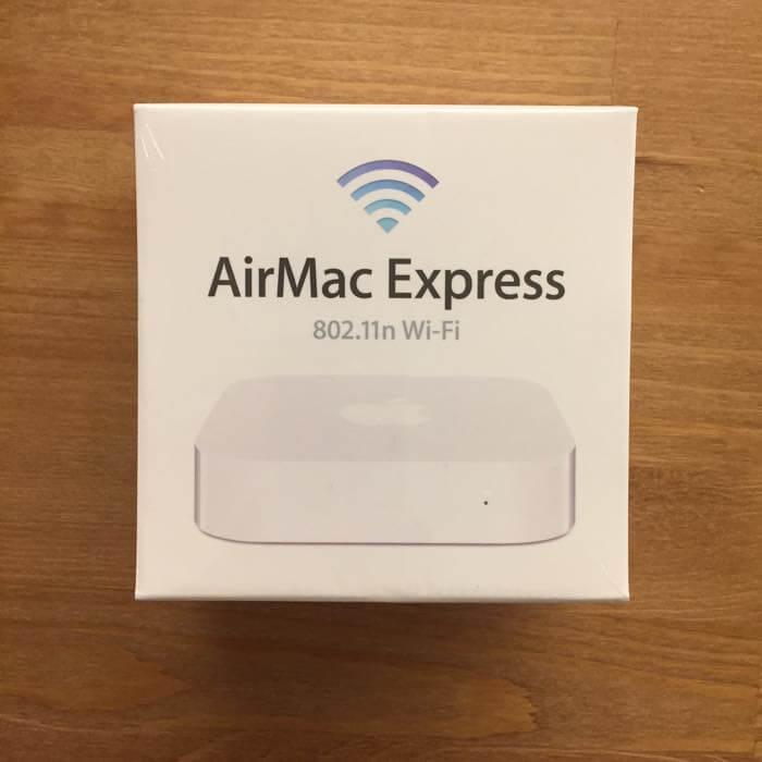 BUFFALOのWi-Fiルーターがよく切れるのでApple純正のApple AirMac Express ベースステーションに買い換えた