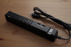 Fargo(ファーゴ)のUSB充電ポート付き回転式電源OAタップ「ROTARY USB TAP」をAmazonで買ってデスク周りのアダプターをスッキリしたよ