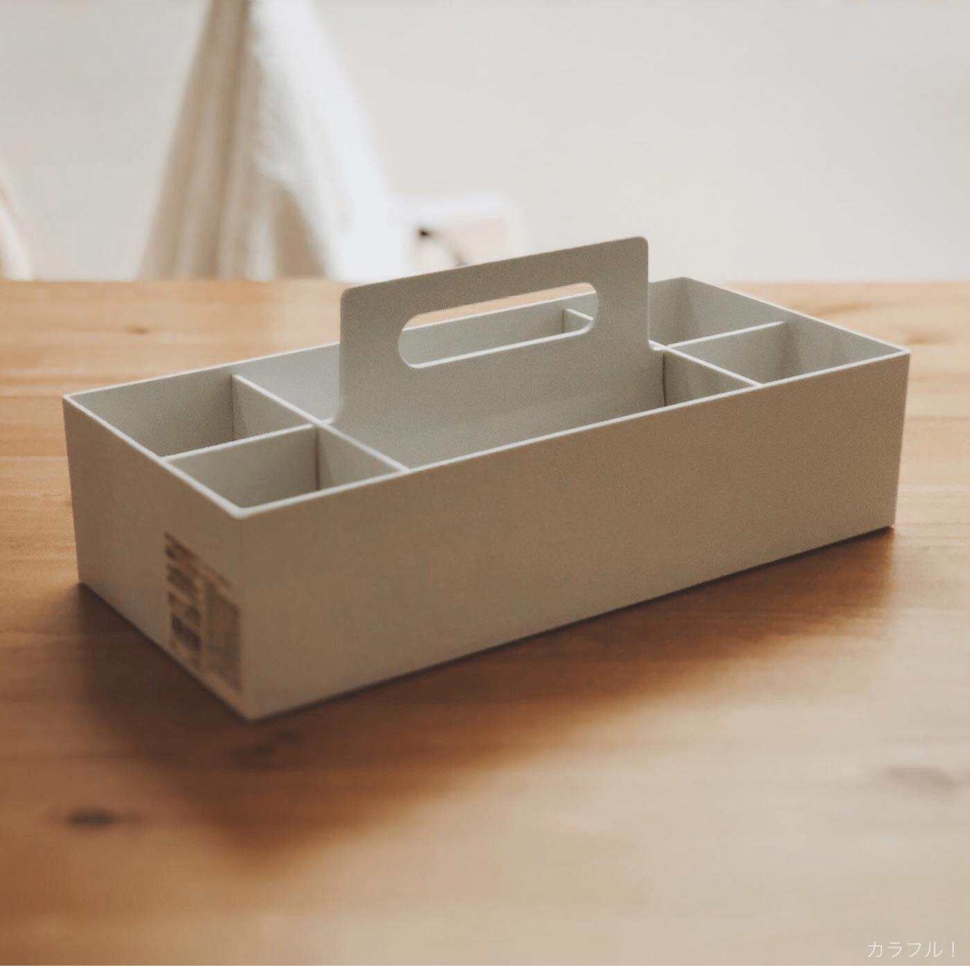 無印良品 ポリプロピレンキャリーボックス・ロック付の画像