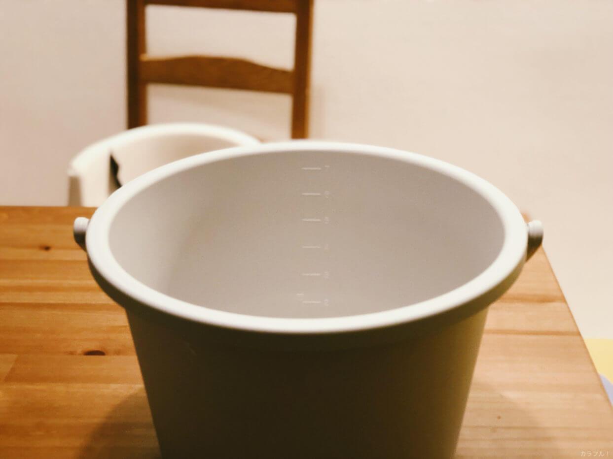 Muji bucket 4